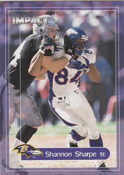 2000 Impact #12 Shannon Sharpe Front