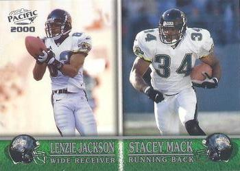 2000 Pacific #174 Lenzie Jackson / Stacey Mack Front