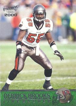 2000 Pacific #365 Derrick Brooks Front