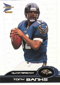 2000 Pacific Prism Prospects #7 Tony Banks Front