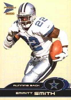 2000 Pacific Prism Prospects #27 Emmitt Smith Front