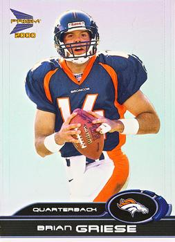 2000 Pacific Prism Prospects #30 Brian Griese Front
