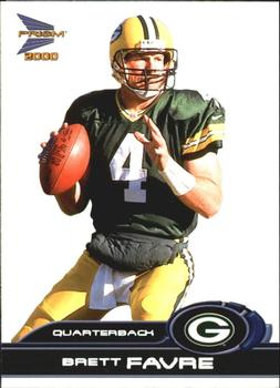 2000 Pacific Prism Prospects #34 Brett Favre Front