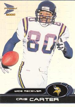 2000 Pacific Prism Prospects #49 Cris Carter Front