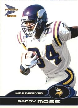 2000 Pacific Prism Prospects #51 Randy Moss Front