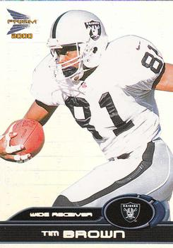 2000 Pacific Prism Prospects #64 Tim Brown Front