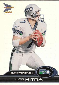 2000 Pacific Prism Prospects #85 Jon Kitna Front