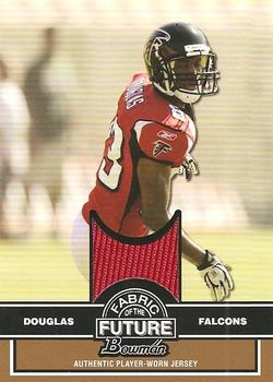 2008 Bowman - Fabric of the Future Gold #FF-JD Harry Douglas Front