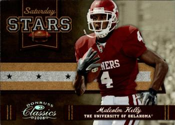 2008 Donruss Classics - Saturday Stars Silver Holofoil #SS-21 Malcolm Kelly Front