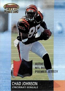 2001 Bowman's Best #117 Chad Johnson Front
