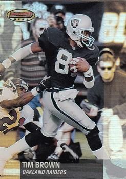2001 Bowman's Best #56 Tim Brown Front