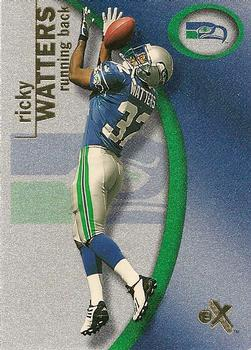 2001 Fleer E-X #46 Ricky Watters Front