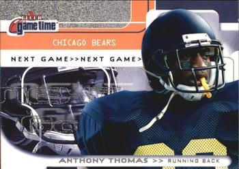 2001 Fleer Game Time #132 Anthony Thomas Front