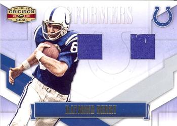 2008 Donruss Gridiron Gear - Performers Jerseys Combos #P-38 Raymond Berry Front