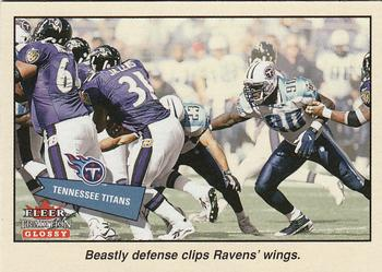 2001 Fleer Tradition Glossy #368 Tennessee Titans Front