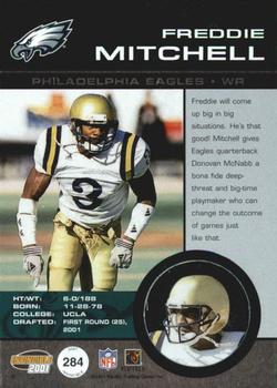 2001 Pacific Invincible #284 Freddie Mitchell Back
