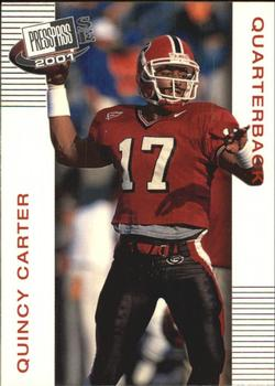 2001 Press Pass SE #3 Quincy Carter Front