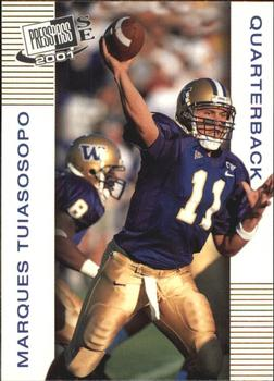 2001 Press Pass SE #4 Marques Tuiasosopo Front
