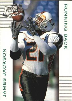 2001 Press Pass SE #17 James Jackson Front