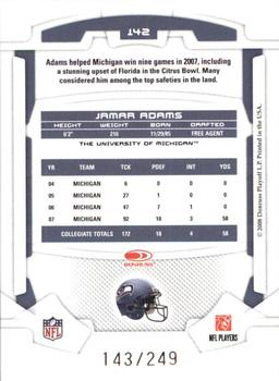 Jamar Adams Gallery | The Trading Card Database