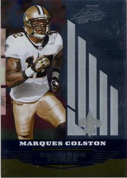 31374c252 2008 Playoff Absolute Memorabilia - Gridiron Force  GF-21 Marques Colston  Front