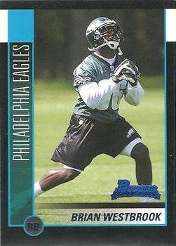 2002 Bowman #155 Brian Westbrook Front