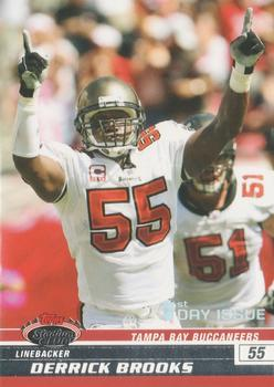 2008 Stadium Club - First Day Issue #76 Derrick Brooks Front