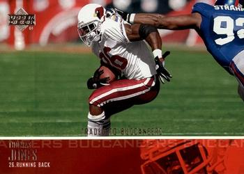 2003 Upper Deck #5 Thomas Jones Front