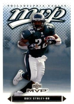 2003 Upper Deck MVP #25 Duce Staley Front