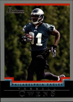 2004 Bowman #30 Terrell Owens Front