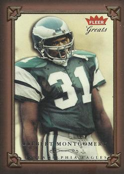 2004 Fleer Greats of the Game #45 Wilbert Montgomery Front