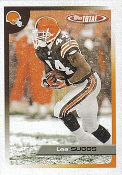 2005 Topps Total #76 Lee Suggs Front