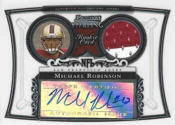 2006 Bowman Sterling #BS-MR2 Michael Robinson Front