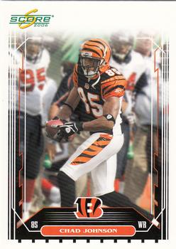 2006 Score #55 Chad Johnson Front