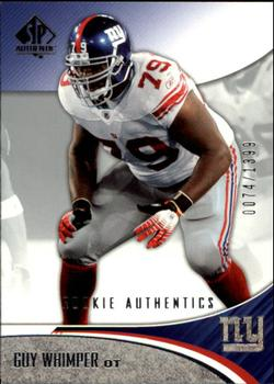 2006 SP Authentic #152 Guy Whimper Front