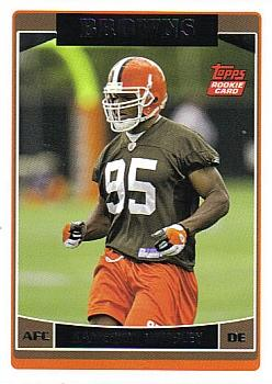 2006 Topps #342 Kamerion Wimbley Front