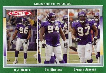 2006 Topps Total #149 Pat Williams / C.J. Mosley / Spencer Johnson Front