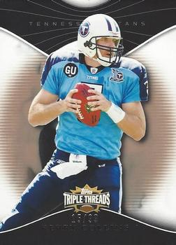 2009 Topps Triple Threads - Gold #24 Kerry Collins Front