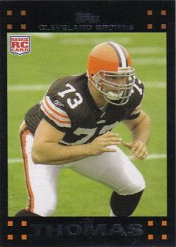 2007 Topps #392 Joe Thomas Front