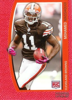 2009 Topps Unique - Red #171 Mohamed Massaquoi Front