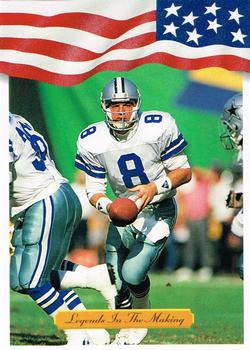1992 All World #10 Troy Aikman Front