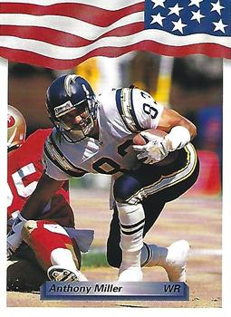 1992 All World #108 Anthony Miller Front