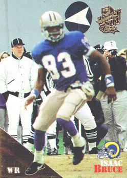 1994 Classic NFL Draft - Gold #93 Isaac Bruce Front