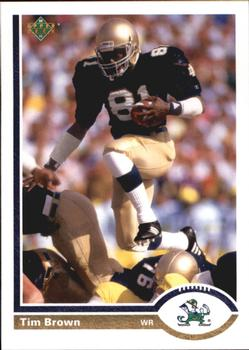 2011 Upper Deck - 20th Anniversary #20A-22 Tim Brown Front