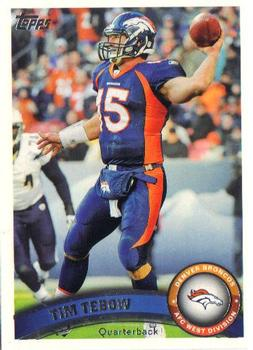 2011 Topps #210 Tim Tebow Front