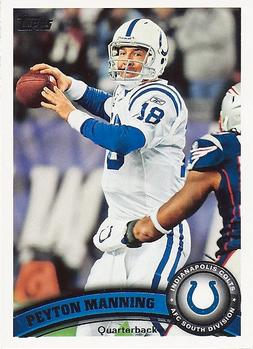 2011 Topps #300a Peyton Manning Front