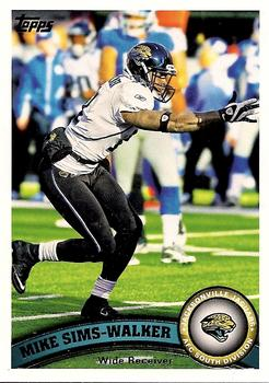 2011 Topps #332 Mike Sims-Walker Front