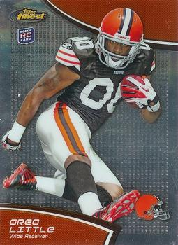 2011 Finest #7 Greg Little Front