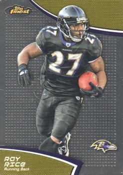 2011 Finest #14 Ray Rice Front