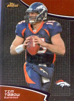 2011 Finest #25 Tim Tebow Front